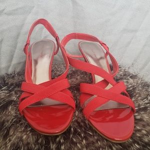 OBO Womens Red Predictions Sz 9 Heels